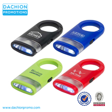 Logo Customzied Dual Shine LED Light Carabiner