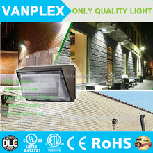 Die cast Aluminium DLC and ETL listed led wall pack light 5 years warranty