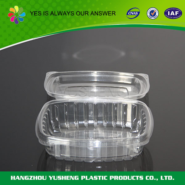 Plastic material type disposable fried chicken packaging boxes