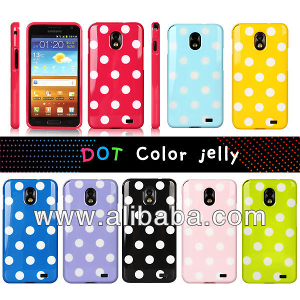 ARTCAMP DOT COLOR Jelly case for iPhone4/4S, 5, Galaxy S4,S5,Note2,Note3