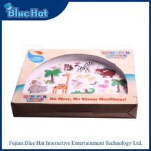 Wholesale latest non-slip design plastic food tray for toddler