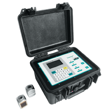 Portable Ultrasonic Flow Meter with Data Logger