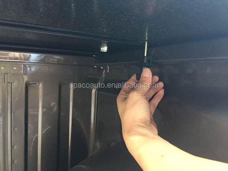 Aluminum Hard Tri Fold Silverado 1500 Tonneau Cover for Chevrolet