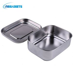 Stainless steel bento lunch box ,BR27j hot sale stainless steel food container