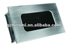 stainless steel inset handle