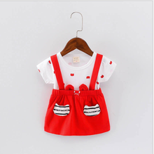 S60249B 2017 Korean fashion comfy small cute fashion designs baby girls fancy dress