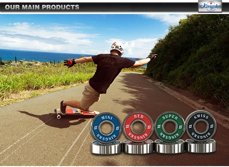 Skateboard Black Built-In Electric longboard Bearings,Electric Longboard