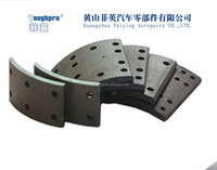 kroea truck brake lining FYS-110(HYUNDAI BUS F2) for asbestoes free brake block