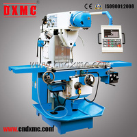 High speed gear cutting 3 axis vertical universal table top milling machine LM1450