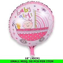 China Wholesale Baby Shower Decoration Metallic Balloon Globos