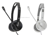 V38 Stereo Music Headphone Over Eear PC Headset with Microphone & Volume Control for PC,Medial Player