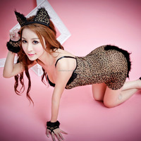 Beautiful furry women sexy animal costumes cosplay costume QAWC-5196