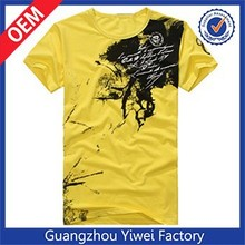 Fashion 190gsm 95 cotton 5 spandex men beautiful t shirt