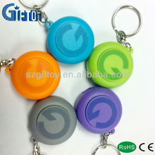 new design promotinal giftoy Projector led keychain