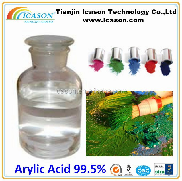 Competitive Price of Acrylic Acid 99.5%min for Fast Dry Spray Paint CAS NO.79-10-7(2-propenoic Acid)AA