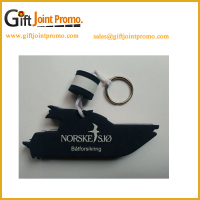 Customized Shape Design EVA Foam Floating Keychains