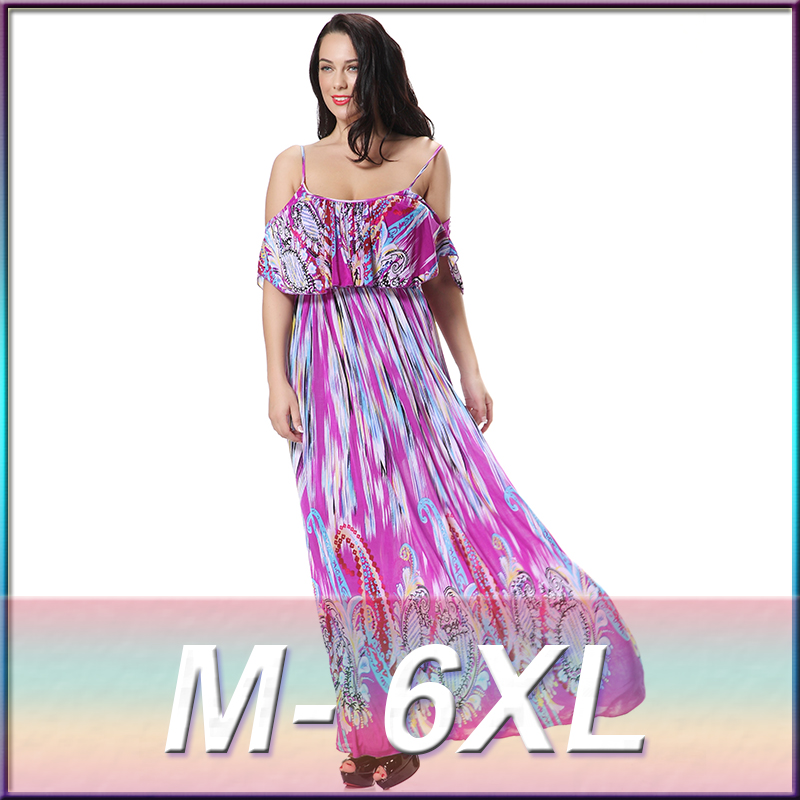 3xl plus size dress 2016 colorful printed jersey dress wholesale plus size clothing online shopping for wholesale clothing