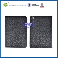 Newest blank sublimation polka dot smart leather case for ipad 2/3