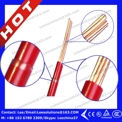 THHN Cable Wire with Copper Conductor, PVC Insulation, Nylon Jacket