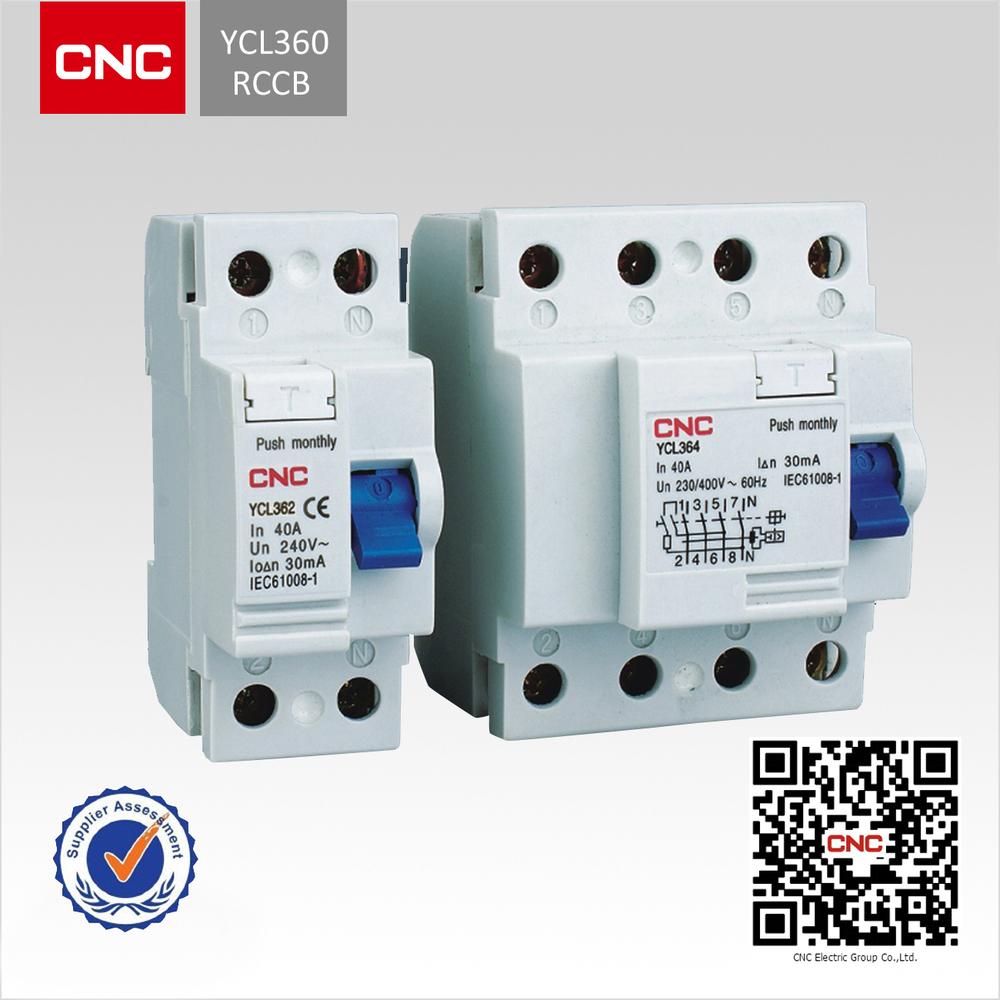 A Ac Type 6ka Electromagnetic Ycl360 Rccb B Buy B4 Wiring Diagram