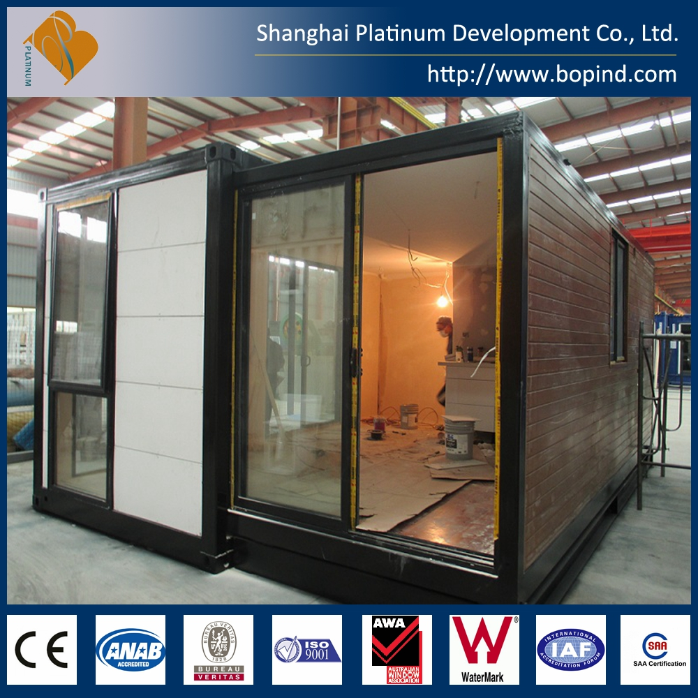 Convenient Transportation Fireproof Expandable Container House