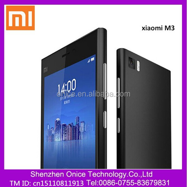 Wholesale xiaomi mobile phone XIAOMI M3 Mi3 64gb phone Snapdragon 800 GSM/WCDMA 13.0MP Quad core 5 inch mobile phone 1920*1080