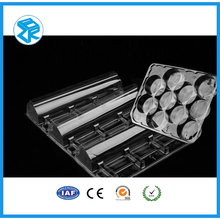 Brand new macarons blister tray long plastic tray food blister packaging with high quality