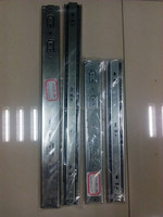 Fee sample factory self closing drawer slides/soft close drawer slides from Chinese factory