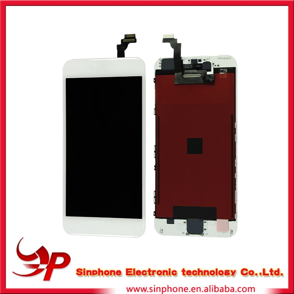 Mobile phones accessories replacement screen for iphone 6 plus lcd digitizer assembly