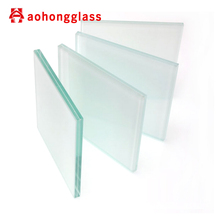 Laminated Glass with Acid Etched 6.38mm 8.38mm thick Frosted Laminated Glass