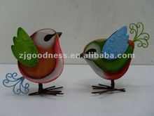 Best Selling Metal/Wood Craft Animals Birds for Garden Decoration