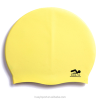 Factory direct sale custom silicone swim caps with promotion price