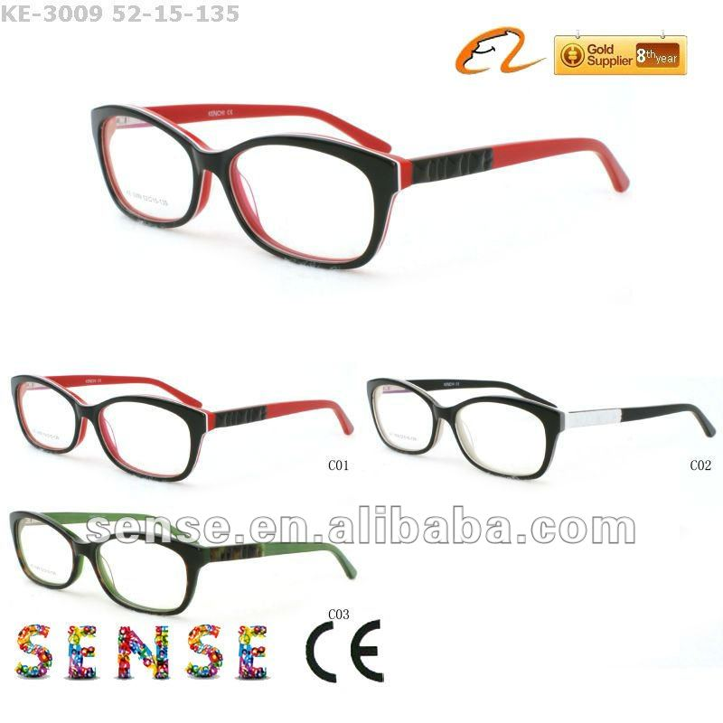 2012 fashion new spectacles design glasses optical frame