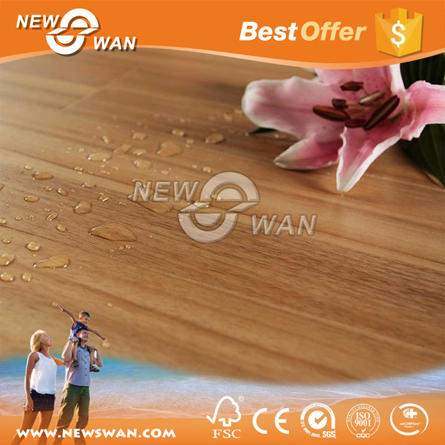 German HDF Laminate Flooring / Waterproof Wood Laminate Flooring