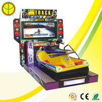 Branded professional electronic war machine racing game