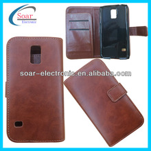 alibaba express for samsung galaxy S5 noble wallet leather case
