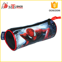ODM Customized color PVC Printing Crafts eco spider hero picture pattern PVC pencil case for Carrying stationery