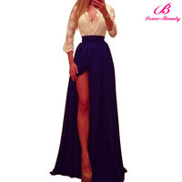 New Listing Fashion Ladies Casual Dress Simple Long Dress Wholesale