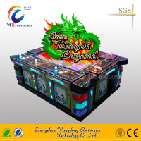 Best Profit Lottery Amusement Arcade Games Green Dragon fishing Machines Manufacturer