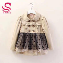 The high quality and cheap to baby dress stock clothing children dress