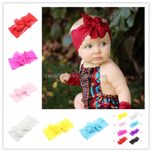 New Baby Girls Toddler Infant lace headband Turban Knot Headband Headwear Hair Band wh-1691
