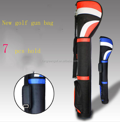 New design Nylon Golf Gun Bag 7 clubs Stands Golf Bag Factory Personalized Golf Bag