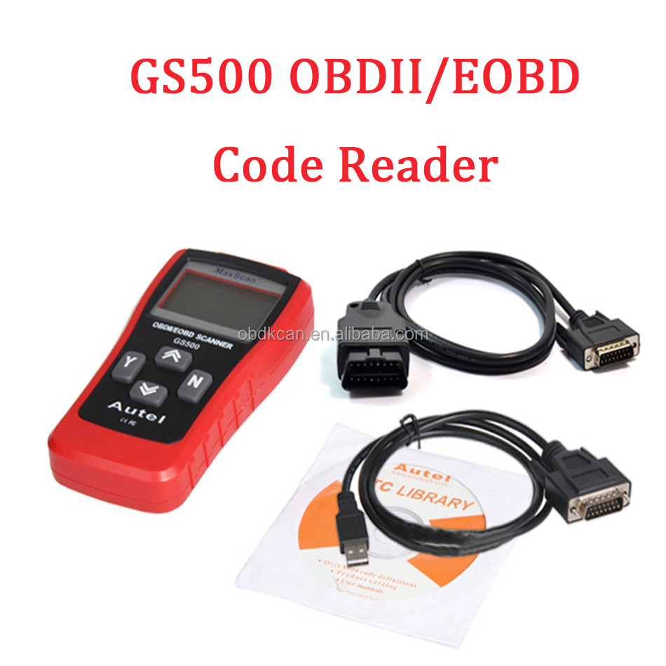 Best quality Original Autel MaxiScan GS500 CAN obdii obd2/EOBD scanner Auto diagnostic tool Code reader