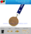 Custom gold plating souvenir metal medal