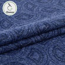 Latest design high quality soft handfeel knit polyester stretch fabric