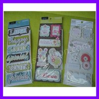 3D sticker for scrapbooking