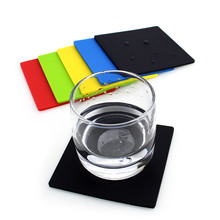 New Design Promotional Gifts Custom Silicone Drink Coaster , Oem Silicone Printed Drink Coasters