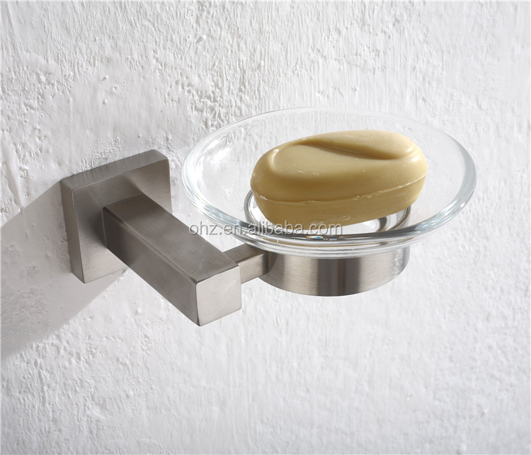 2602 shower rail soap holder and hotel soap dish for recessed soap dish
