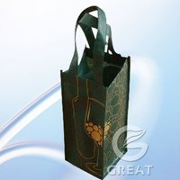 Durable personalized wine gift bags
