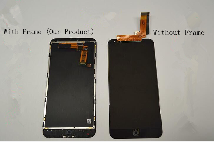 100% Without Dead Pixel LCD Display Assembly With Frame For ihone 6 AAA Quality,White and Black Color Available